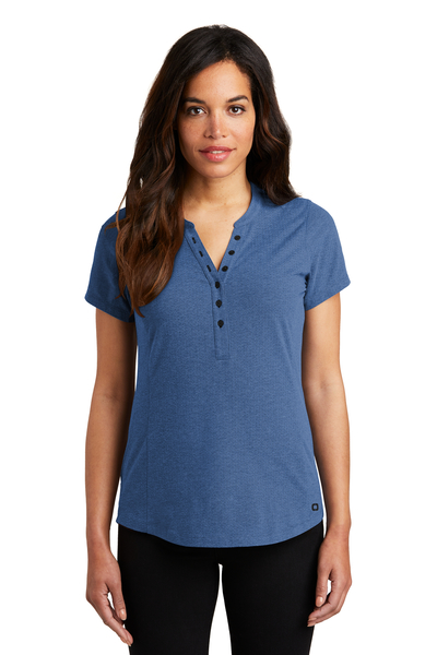 OGIO Embroidered Women's Tread Henley