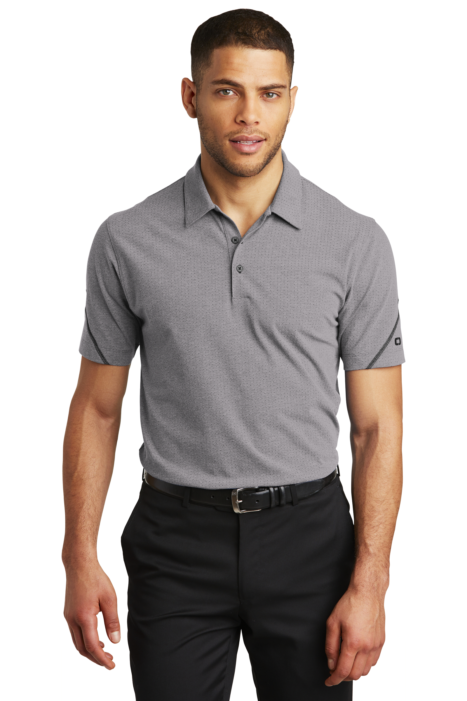OGIO Embroidered Men's Tread Polo