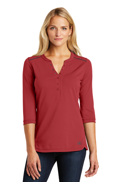 OGIO Embroidered Women's Fuse Henley