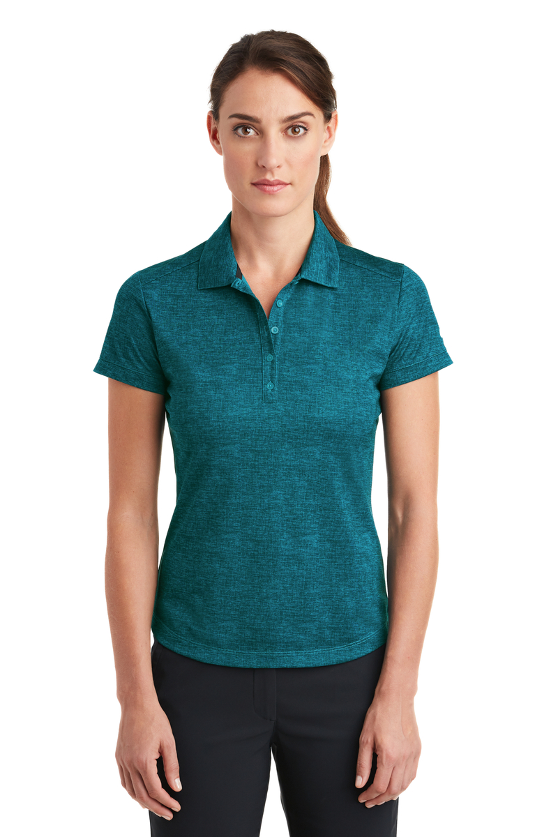 Nike Embroidered Women's Dri-FIT Crosshatch Polo