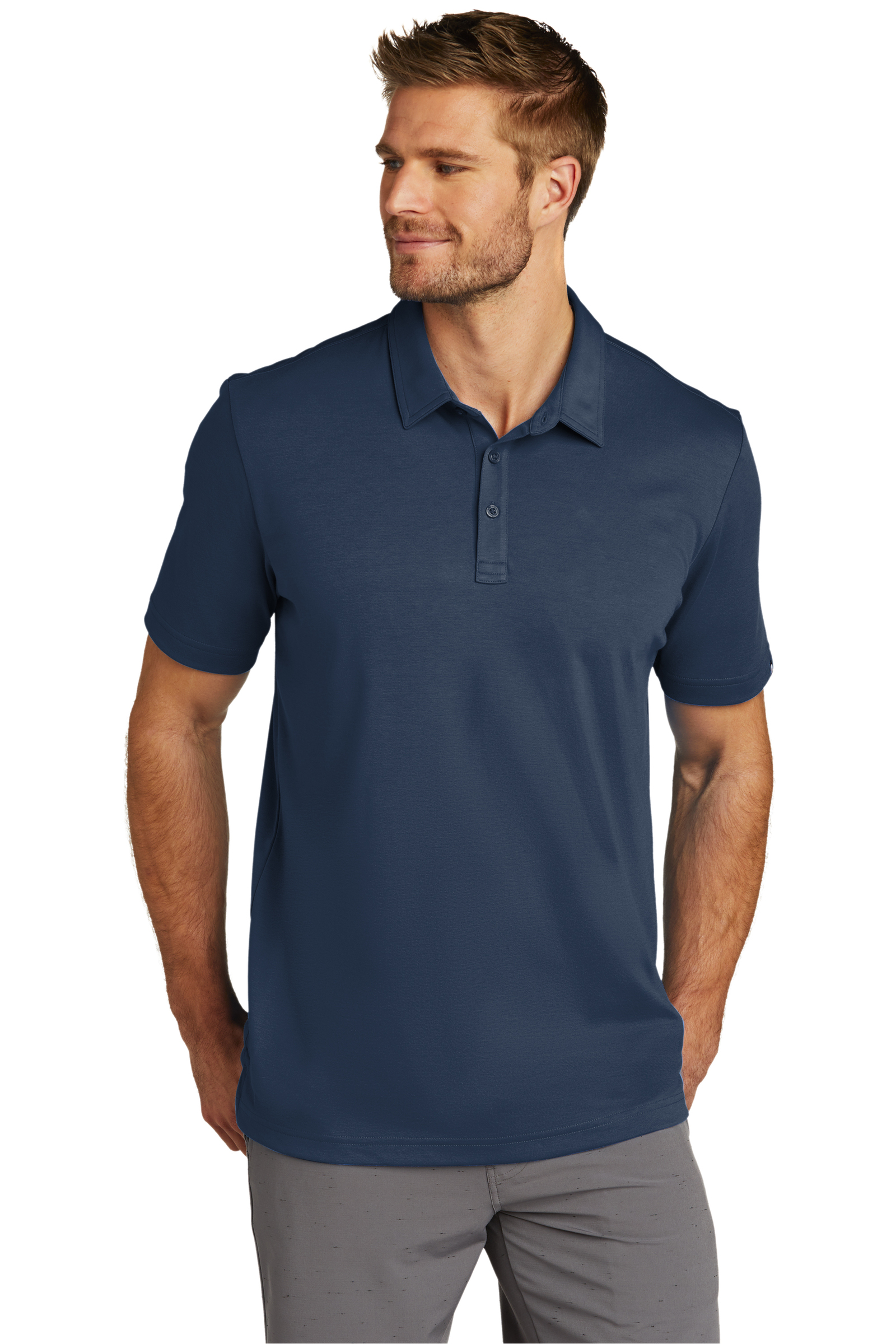 TravisMathew Embroidered Men's Oceanside Solid Polo