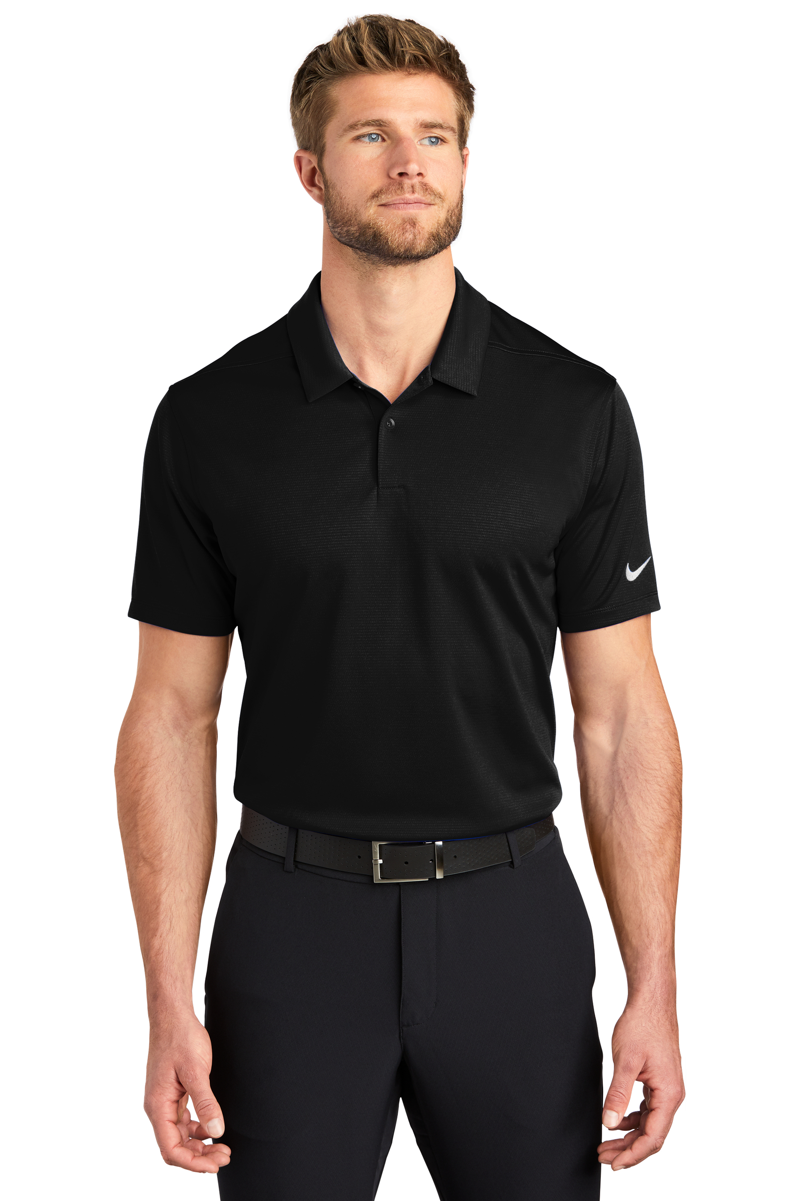 Nike Embroidered Men's Dry Essential Solid Polo