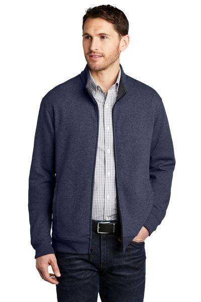 Port Authority Embroidered Men's Interlock Full-Zip