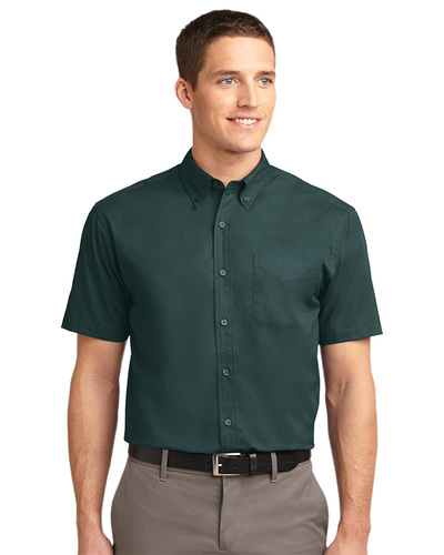 Port Authority Embroidered Men's Easy Care Short Sleeve Shirt