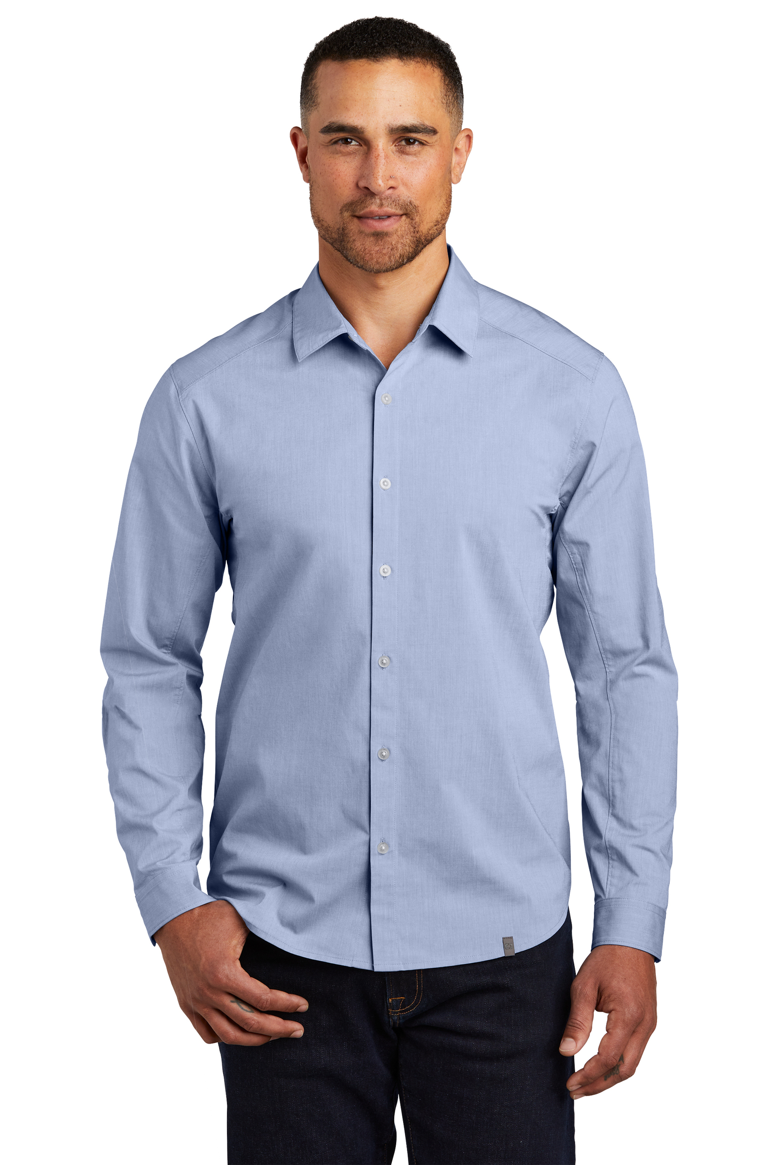 OGIO Embroidered Men's Commuter Woven Shirt