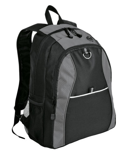 Port Authority Embroidered Contrast Honeycomb Backpack