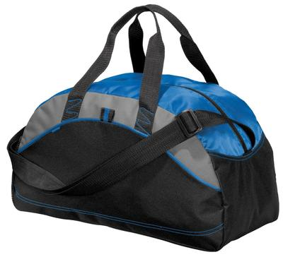 Port & Company Embroidered All Purpose Contrast Duffel