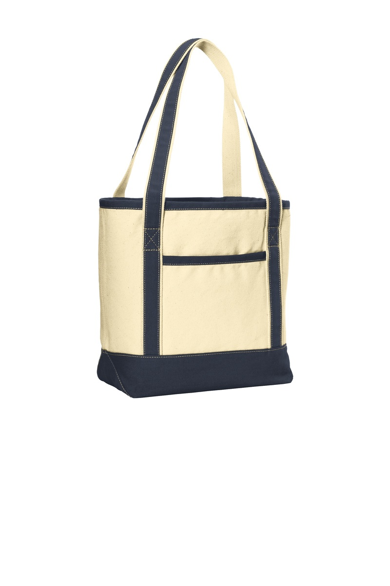 Port Authority Embroidered Medium Canvas Boat Tote