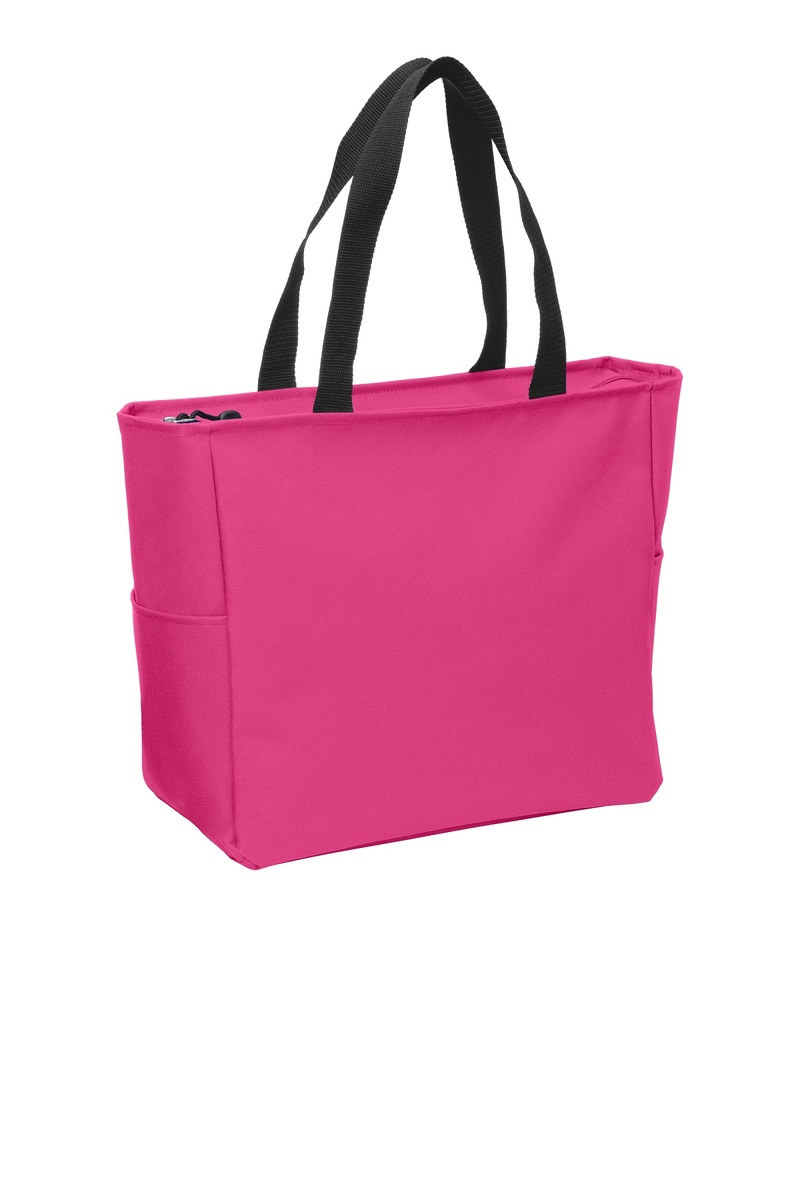 Port Authority Embroidered Essential Zip Tote