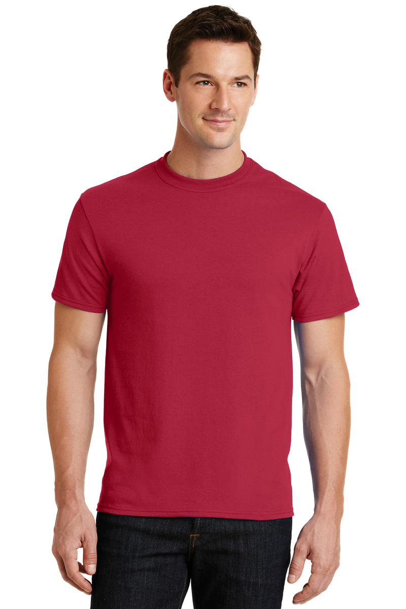 Port & Company Embroidered Men's Core Blend Tee