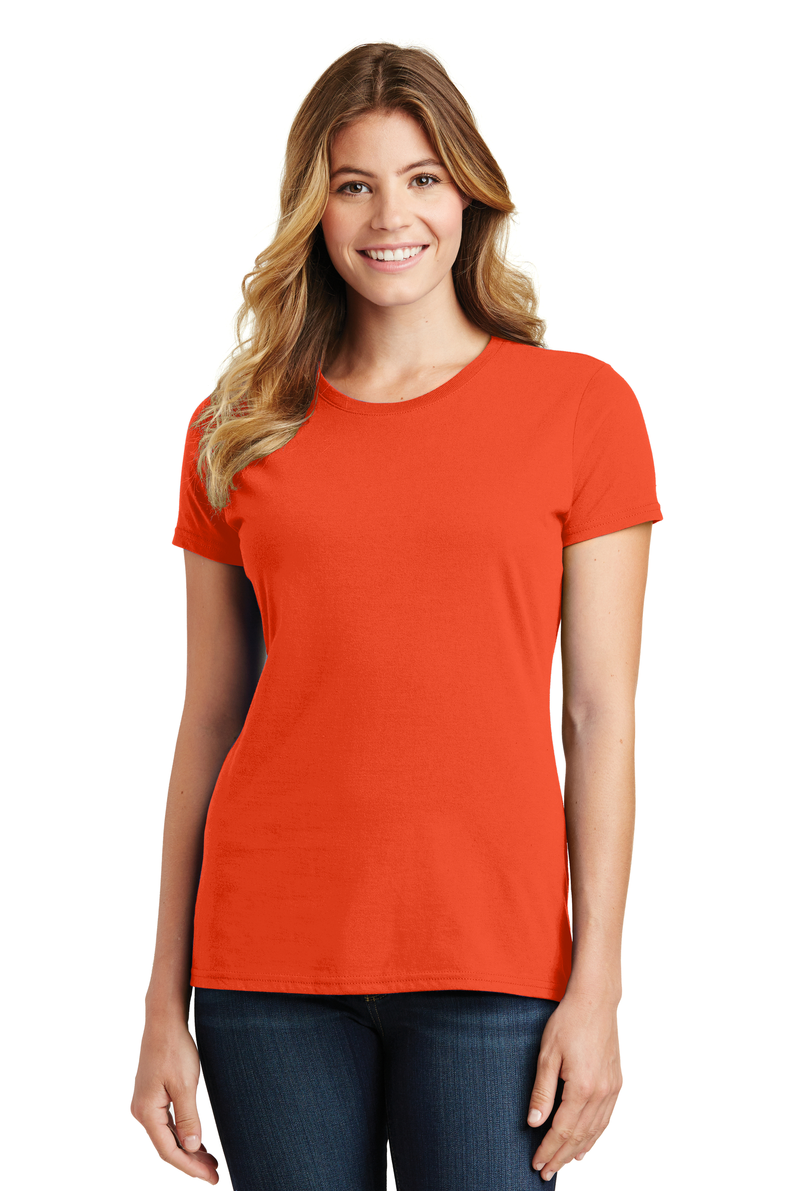 Port & Company Embroidered Women's Fan Favorite Tee