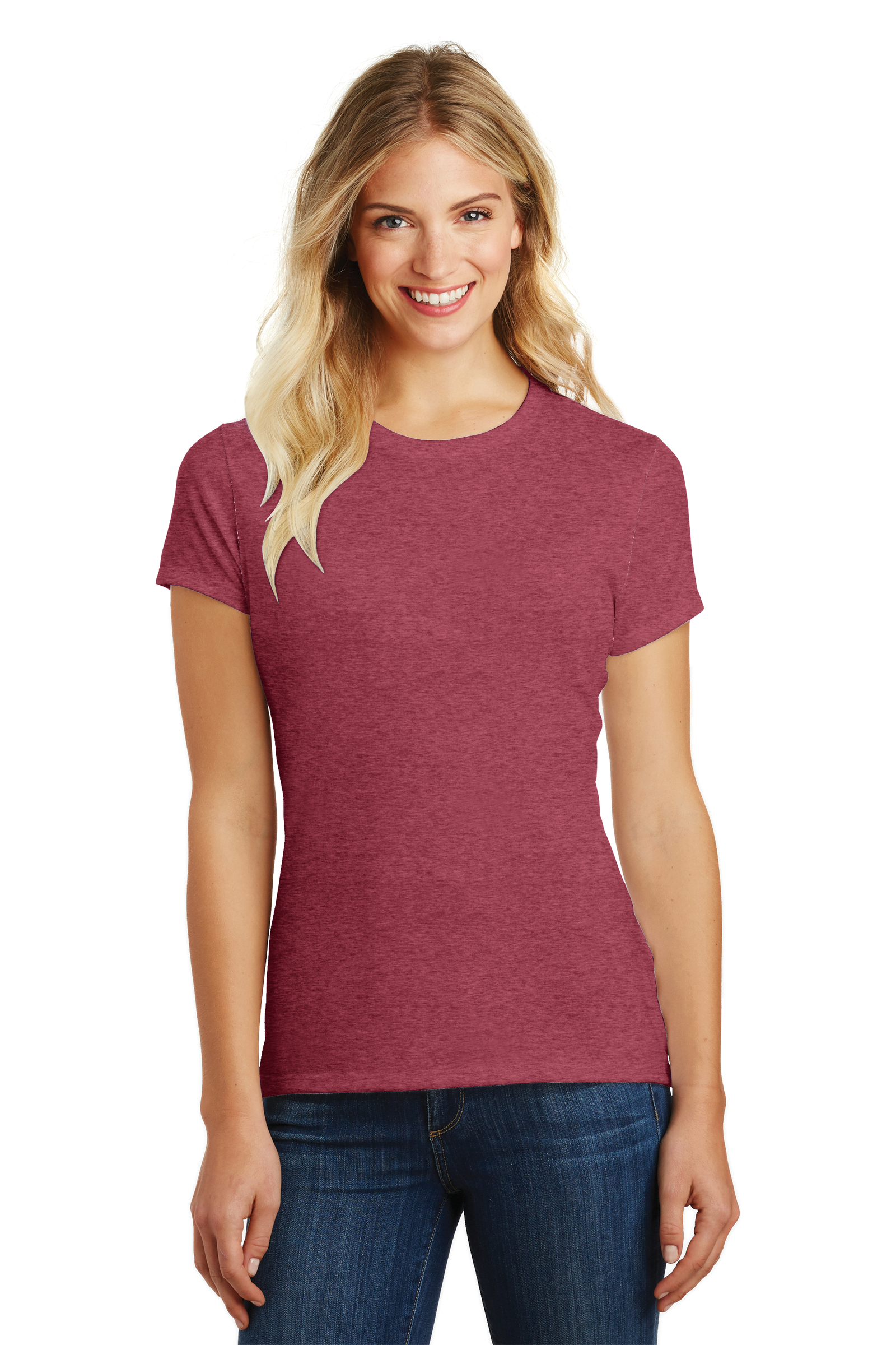 District Embroidered Women's Perfect Blend Tee