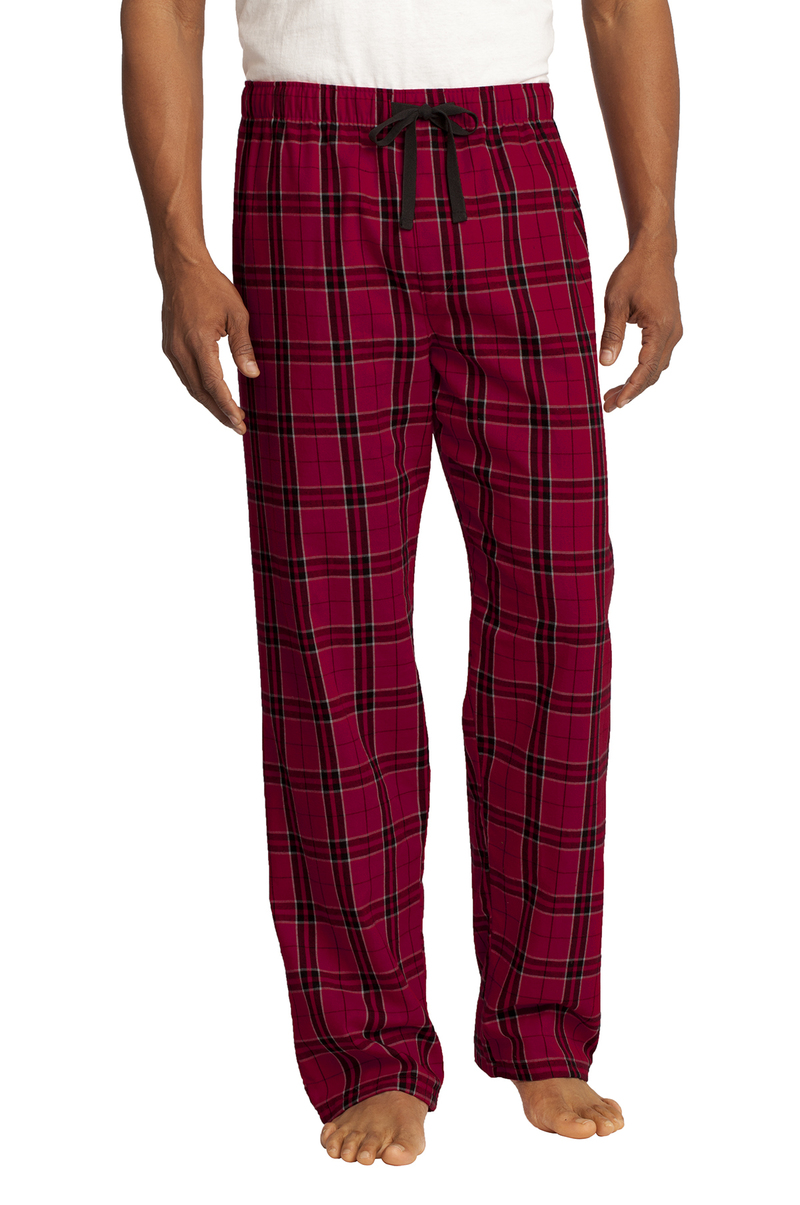 District Men's Flannel Plaid Pajama Pants