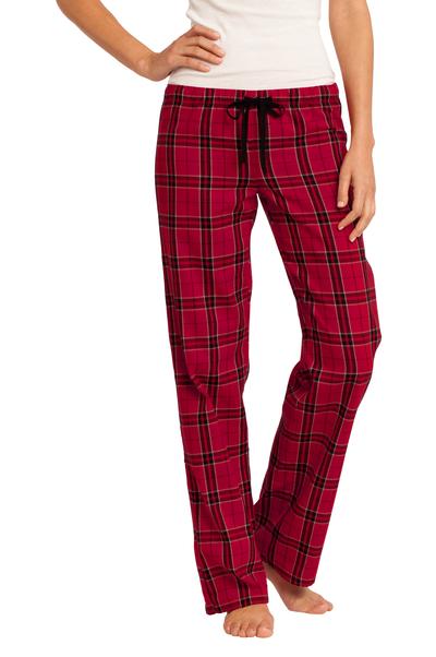 District Women's Flannel Plaid Pajama Pants