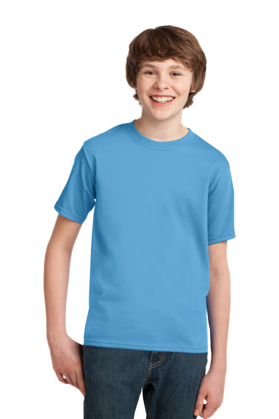 Port & Company Printed Youth Essential Tee