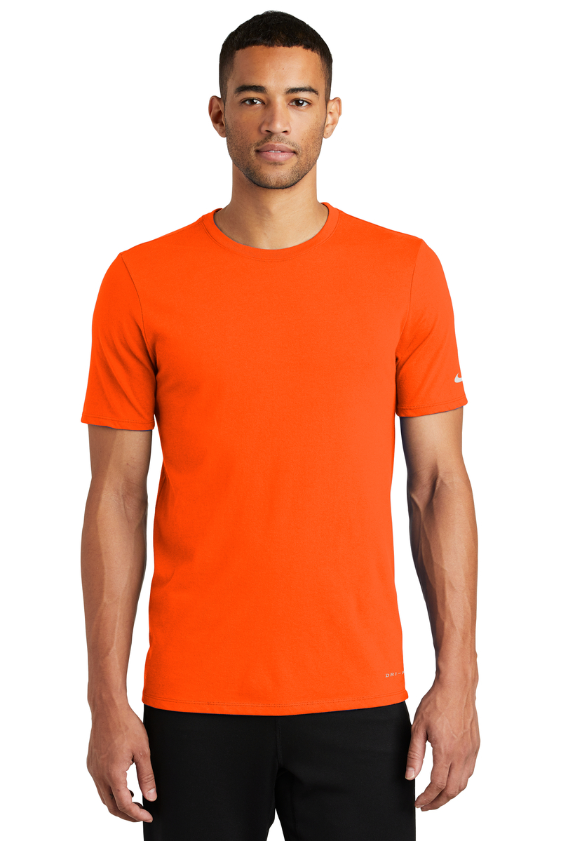 Nike Embroidered Men's Dri-FIT Cotton/Poly Tee