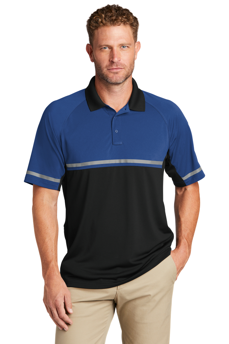 CornerStone Embroidered Men's Select Lightweight Enhanced Visibility Polo