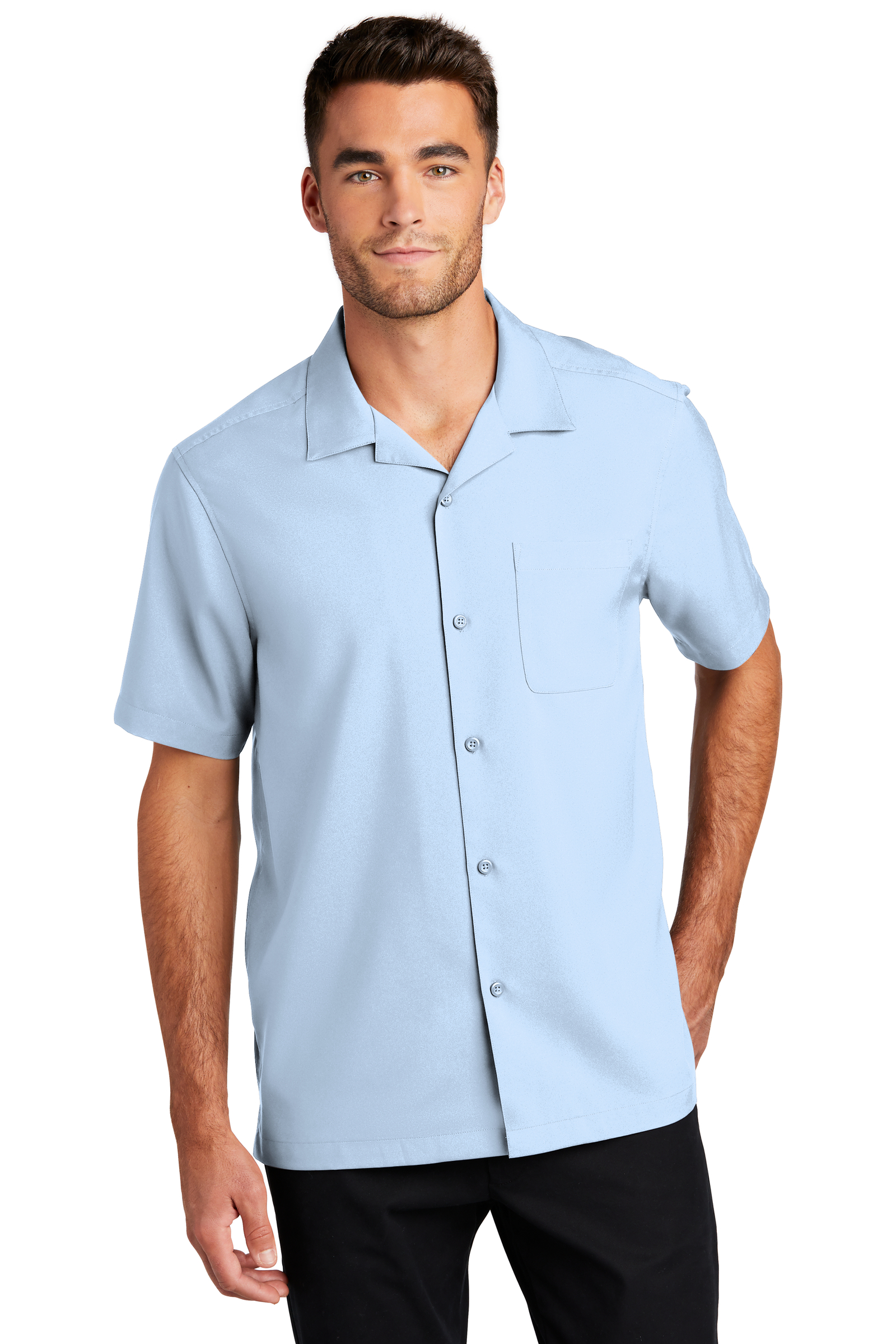 Port Authority Embroidered Men's Short Sleeve Performance Staff Shirt