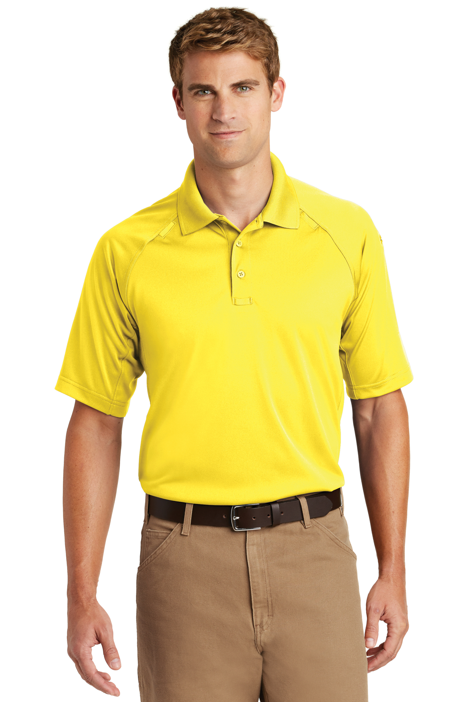 CornerStone Embroidered Men's Select Snag-Proof Tactical Polo