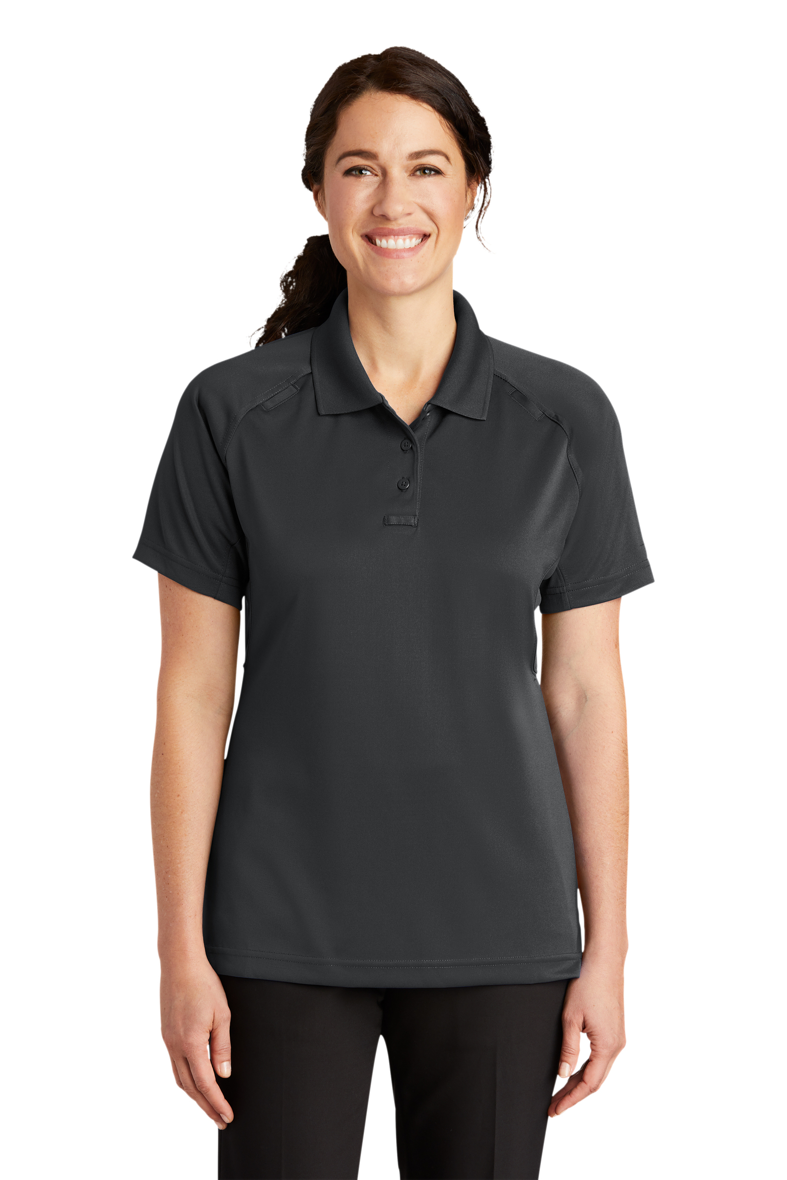 CornerStone Embroidered Women's Select Snag-Proof Tactical Polo
