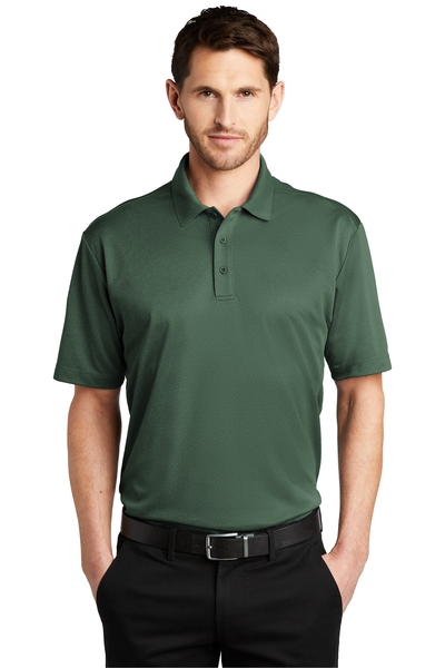 Port Authority Embroidered Men's Heathered Silk Touch Performance Polo