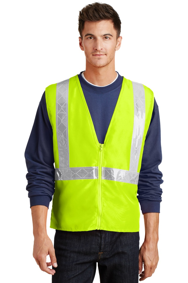 Port Authority Embroidered Safety Vest