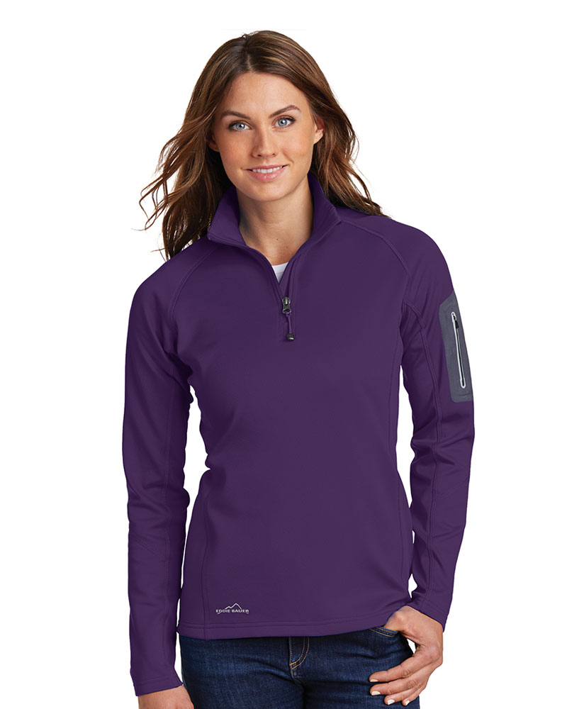 Eddie Bauer  Embroidered Women's 1/2-Zip Performance Fleece Jacket