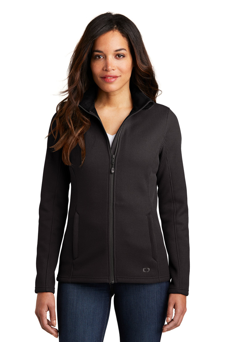 OGIO Embroidered Women's Grit Fleece Jacket
