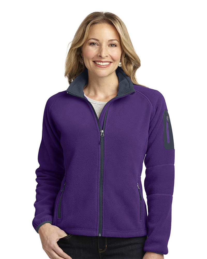 Port Authority  Embroidered Women's Enhanced Value Fleece Full-Zip Jacket