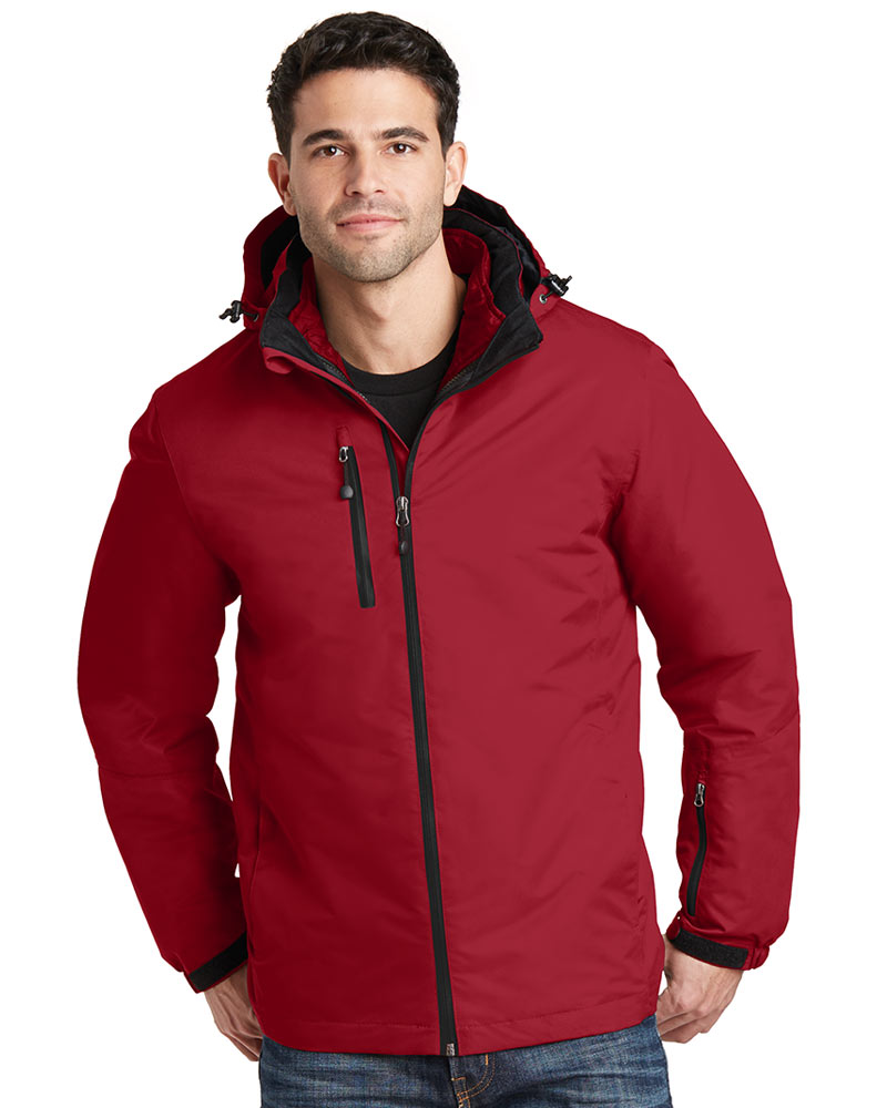 Port Authority  Embroidered Men's Vortex Waterproof 3-in-1 Jacket