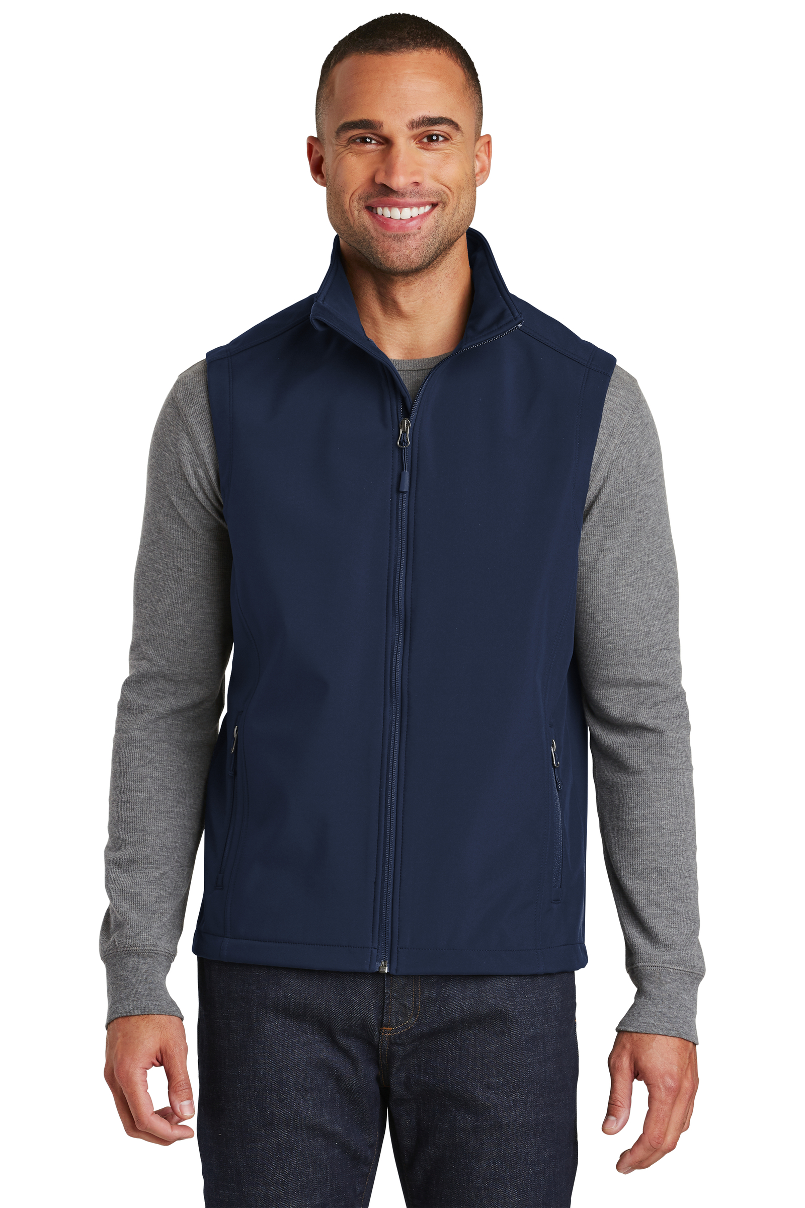 Port Authority Embroidered Men's Core Soft Shell Vest