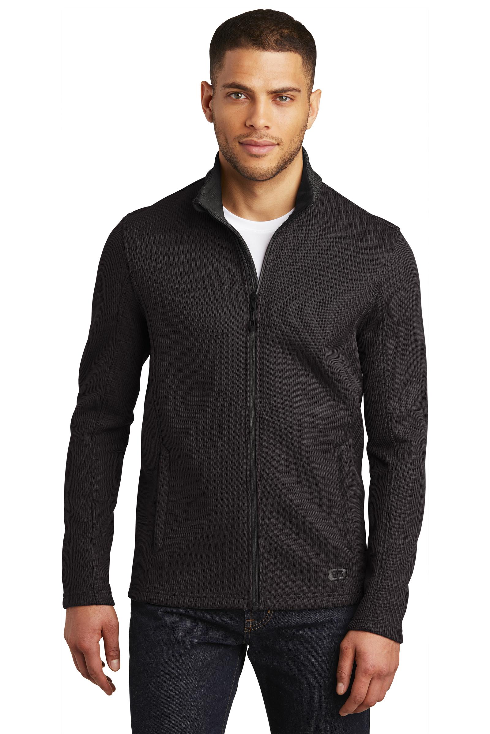OGIO Embroidered Men's Grit Fleece Jacket