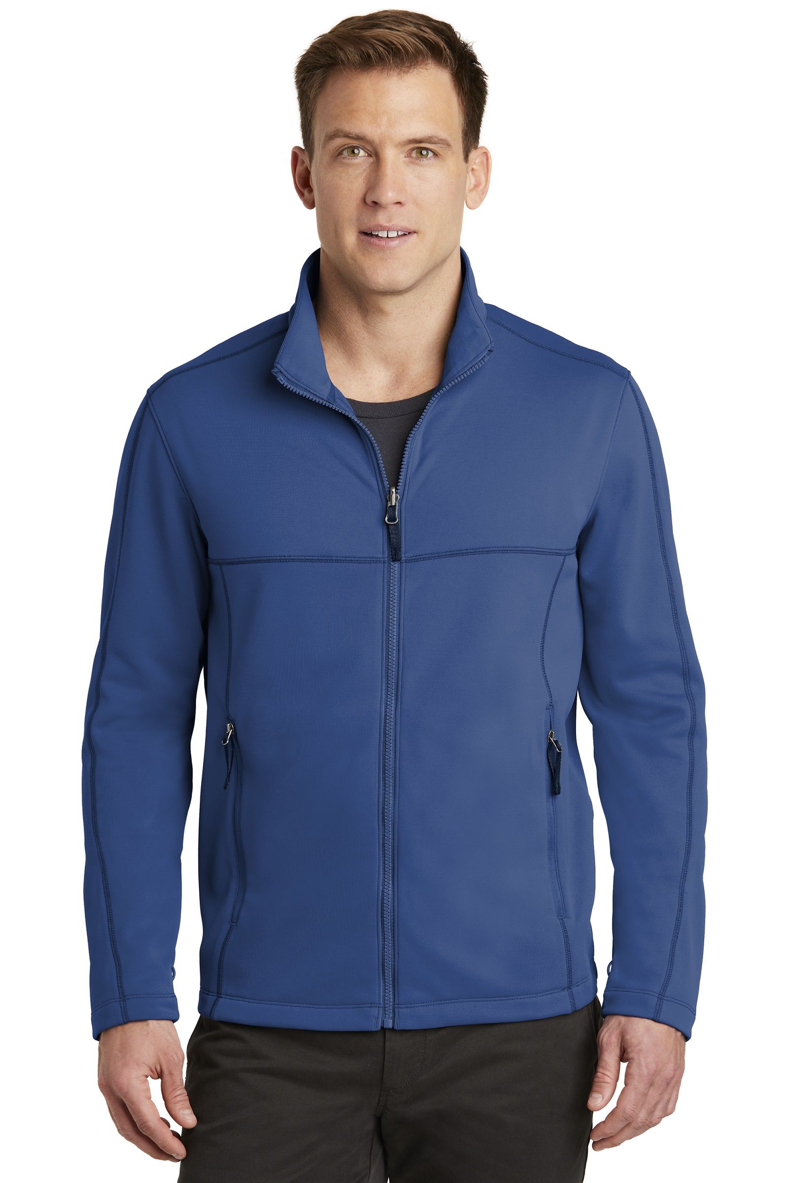 Port Authority Embroidered Men's Collective Smooth Fleece Jacket