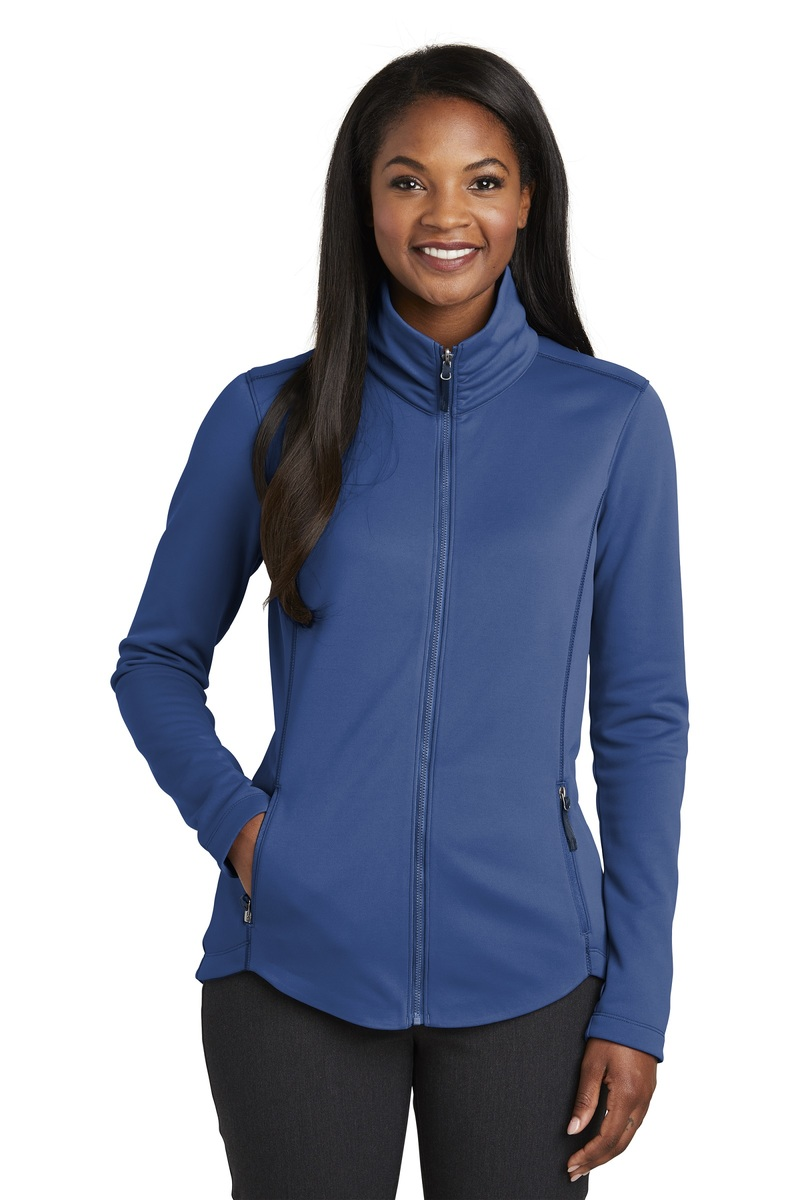 Port Authority Embroidered Women's Collective Smooth Fleece Jacket