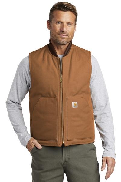 Carhartt Embroidered Men's Duck Vest