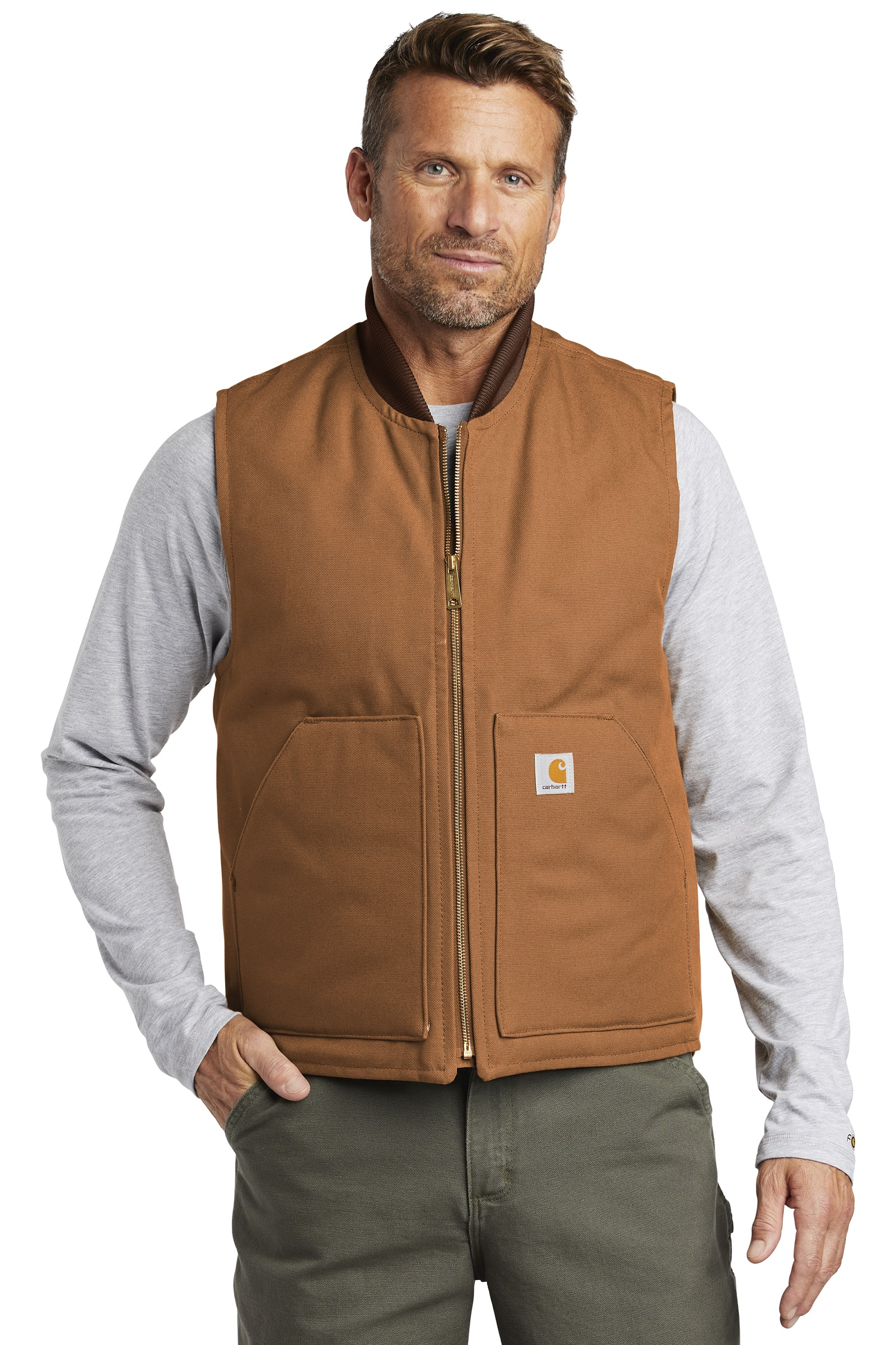 Carhartt Embroidered Men's Duck Vest