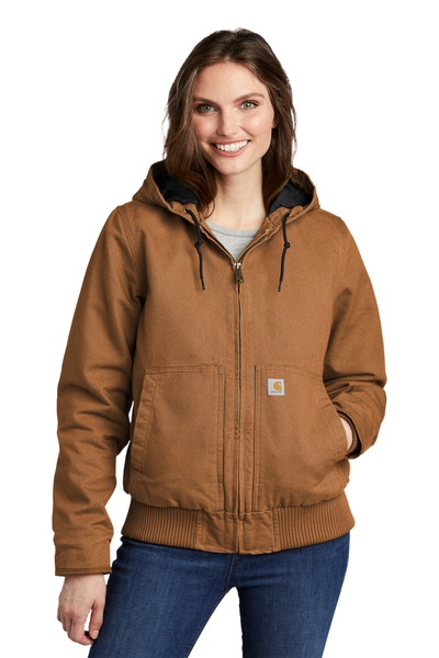 Carhartt Embroidered Women's Washed Duck Active Jacket