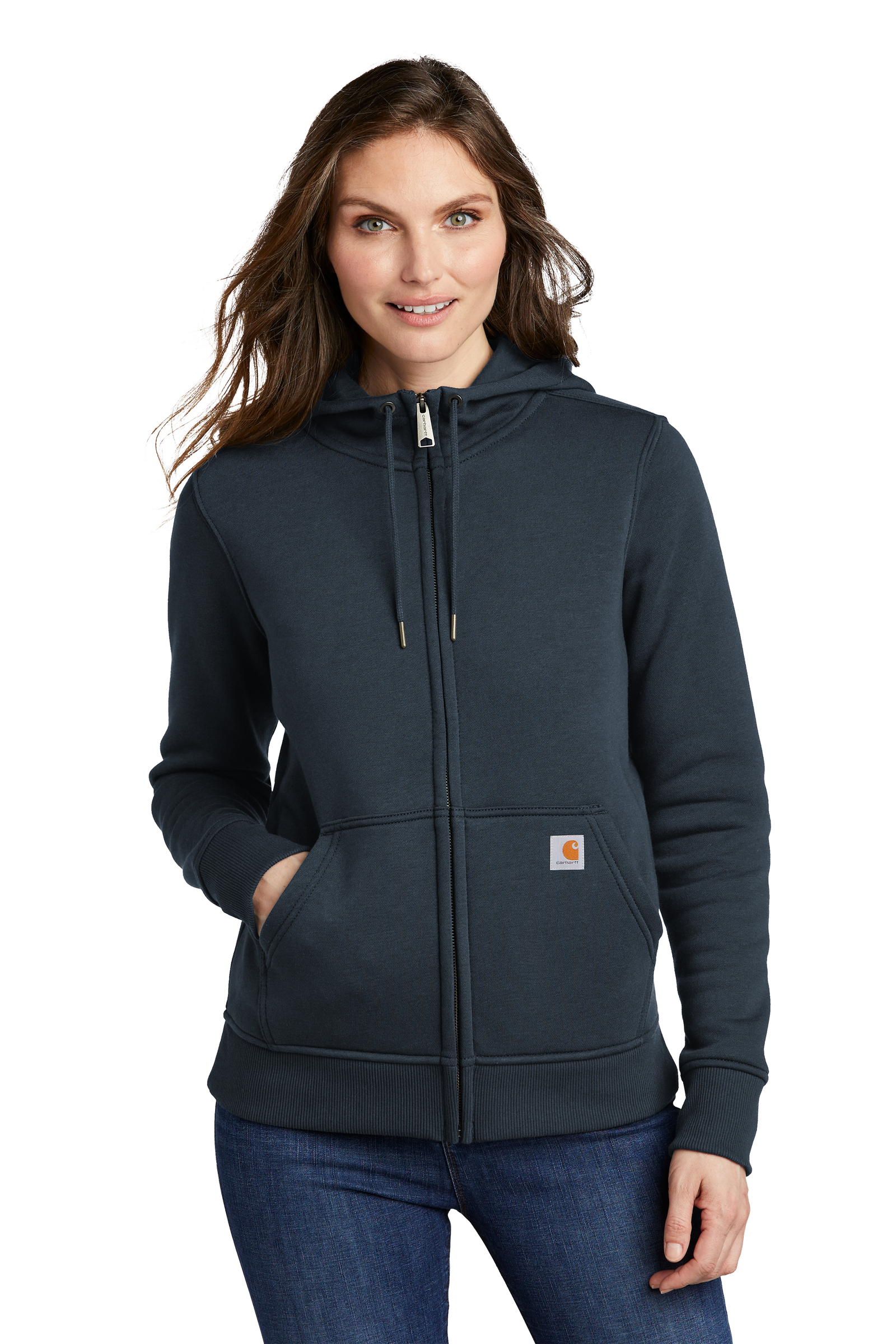 Carhartt Embroidered Women's Clarksburg Full-Zip Hoodie