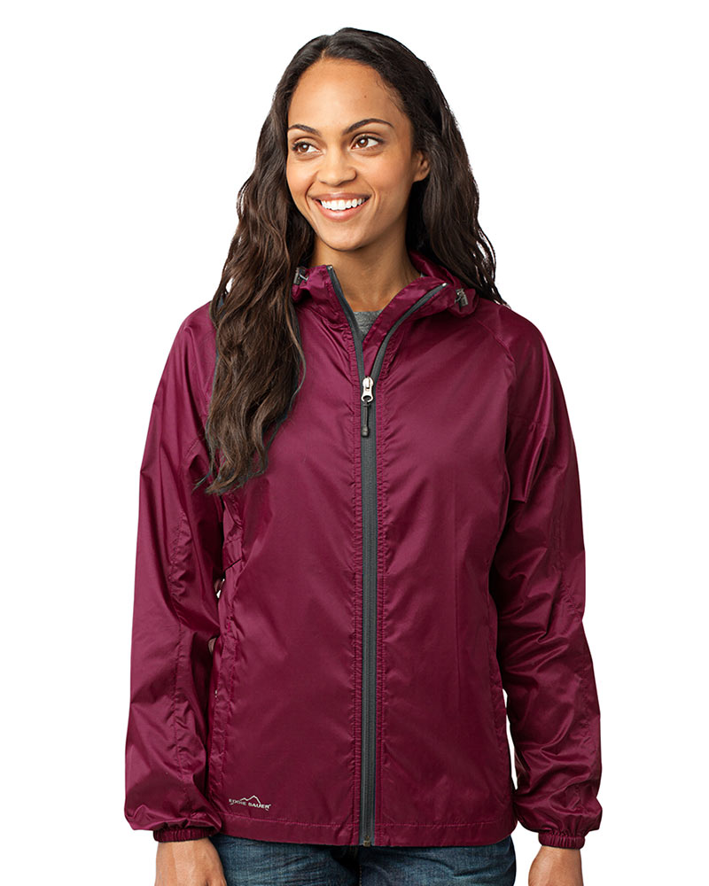 Eddie Bauer  Embroidered Women's Packable Shell Jacket