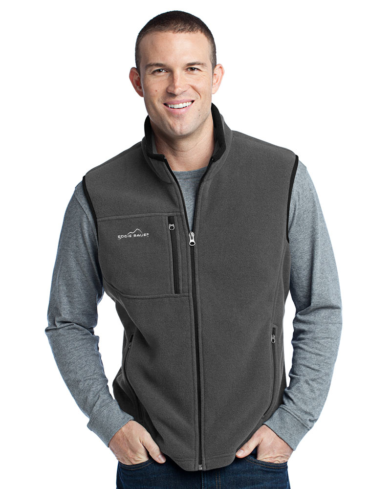 Eddie Bauer Embroidered Men's Fleece Vest