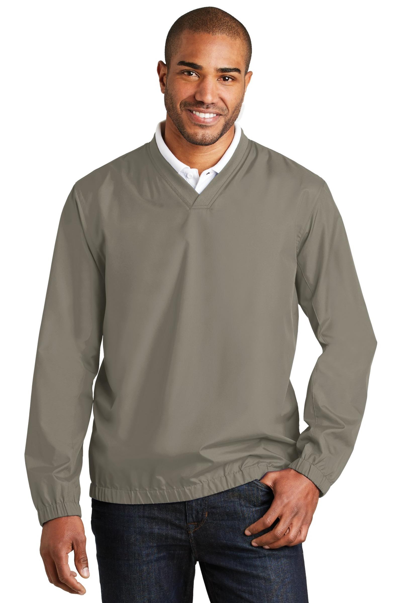 Port Authority  Embroidered Men's Zephyr V-Neck Pullover