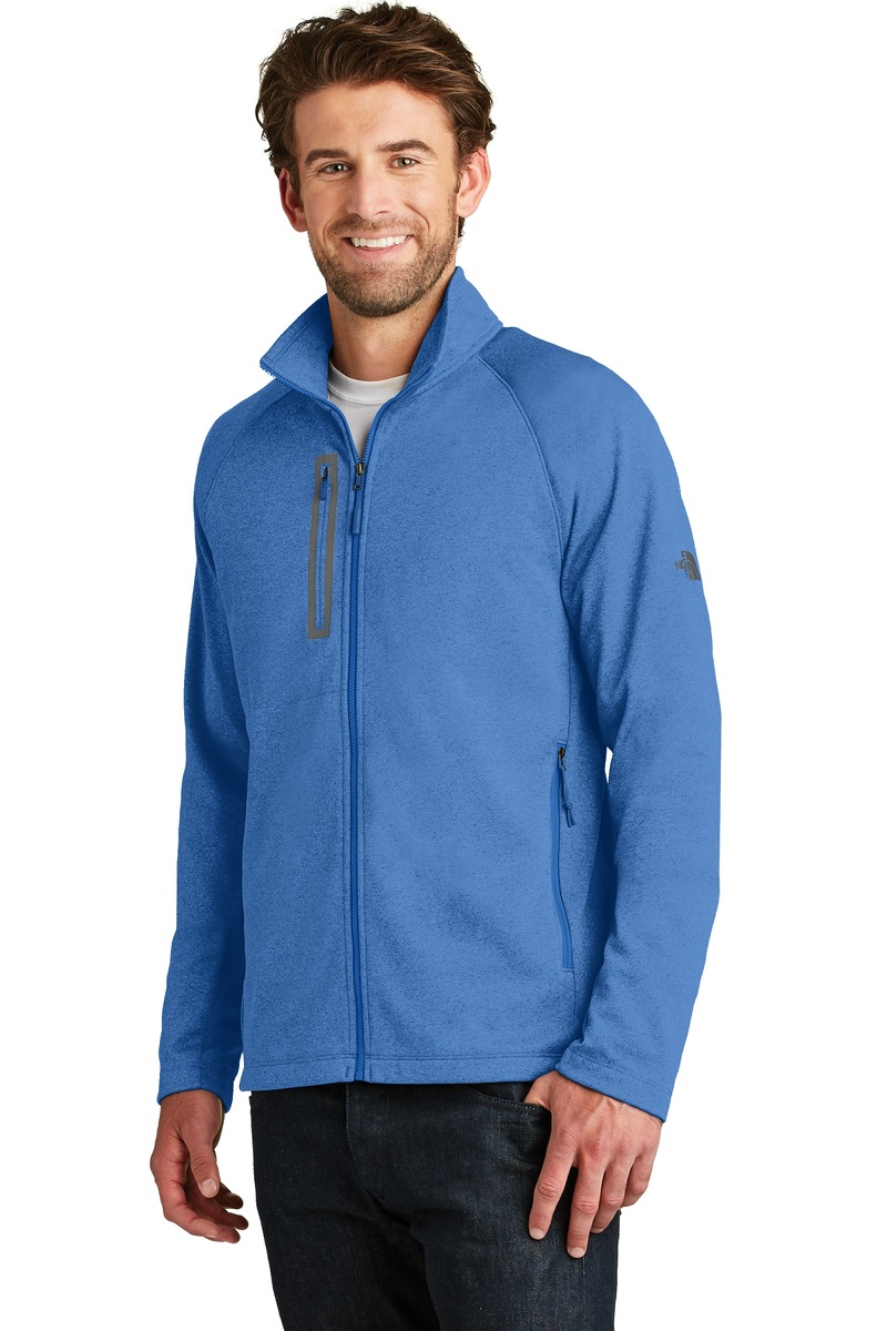 The North Face Embroidered Men's Face Canyon Flats Fleece Jacket