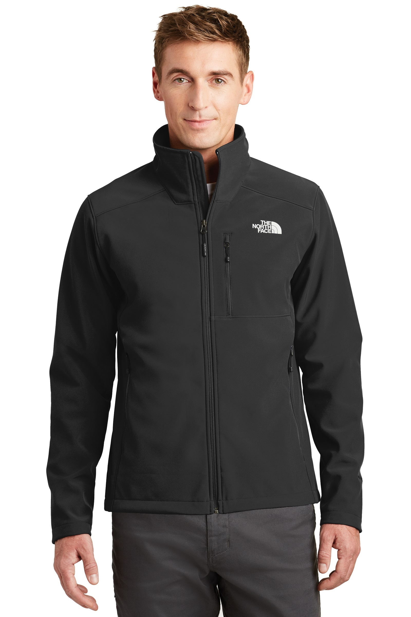 The North Face  Embroidered Men's Apex Barrier Soft Shell Jacket