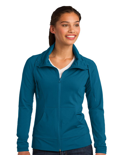 Sport-Tek  Embroidered Women's SportWick Stretch Jacket