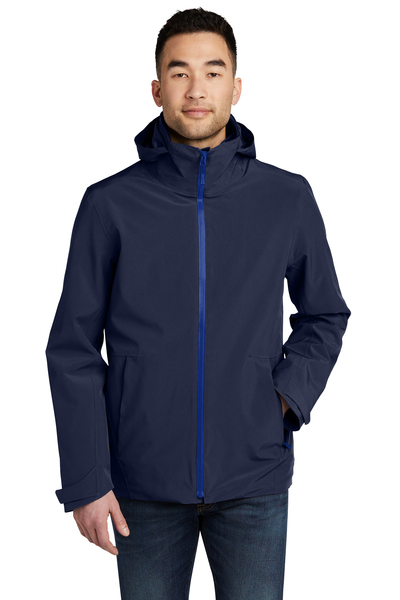 Eddie Bauer Embroidered Men's WeatherEdge 3-in-1 Jacket