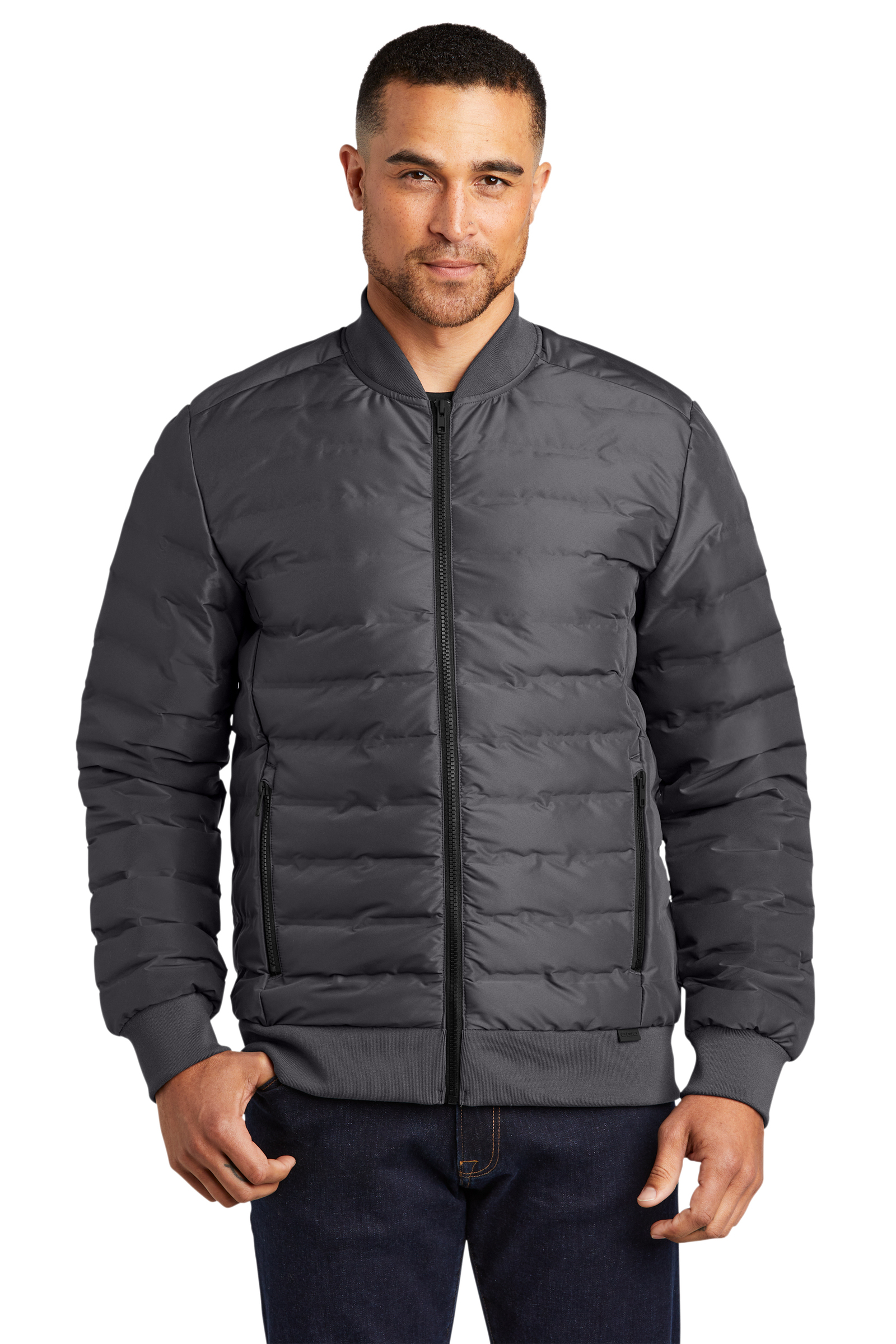 OGIO Embroidered Men's Street Puffy Full-Zip Jacket