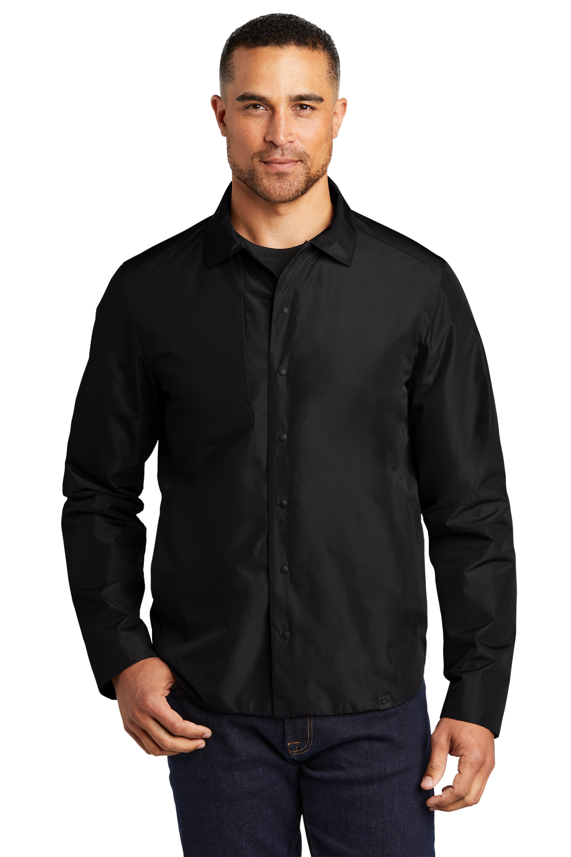 OGIO Embroidered Men's Core Reverse Shirt Jacket