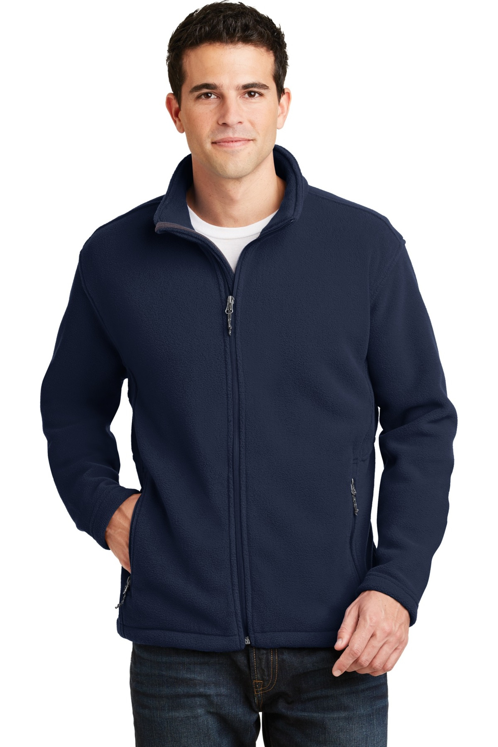 Port Authority Embroidered Men's Value Fleece Jacket