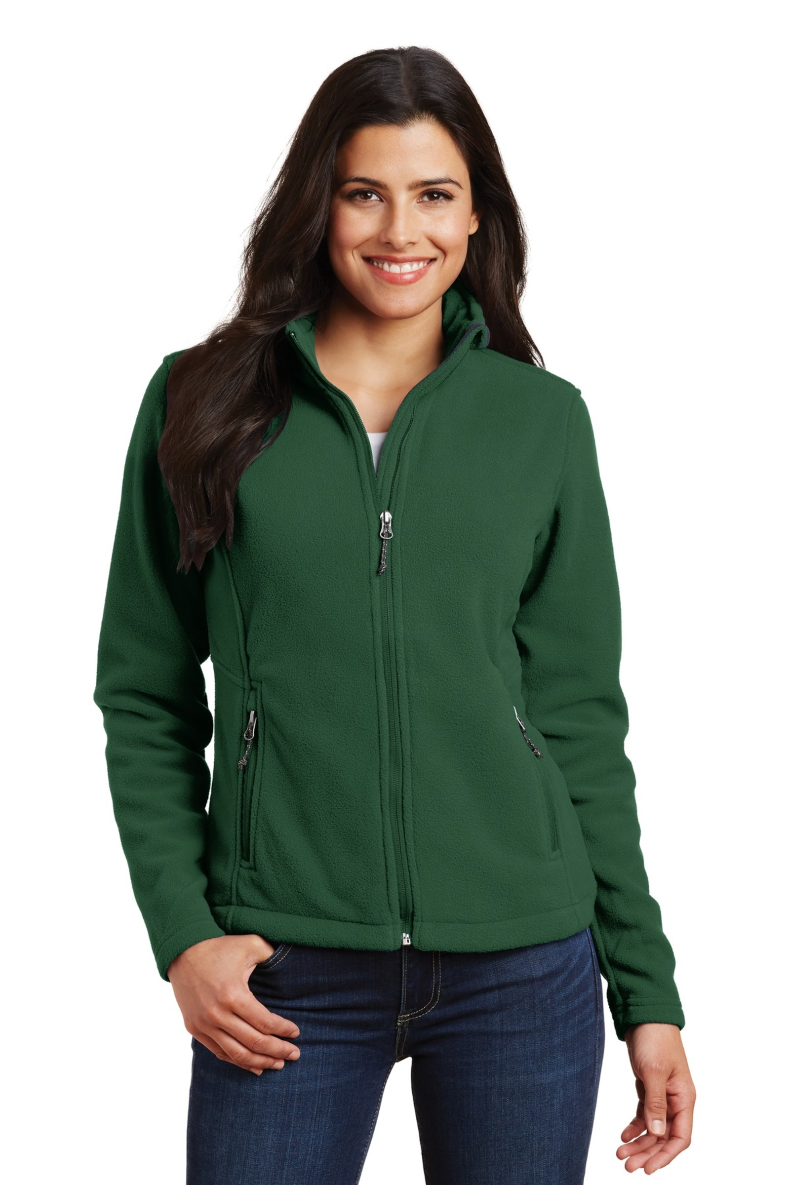 Port Authority Embroidered Women's Value Fleece Jacket
