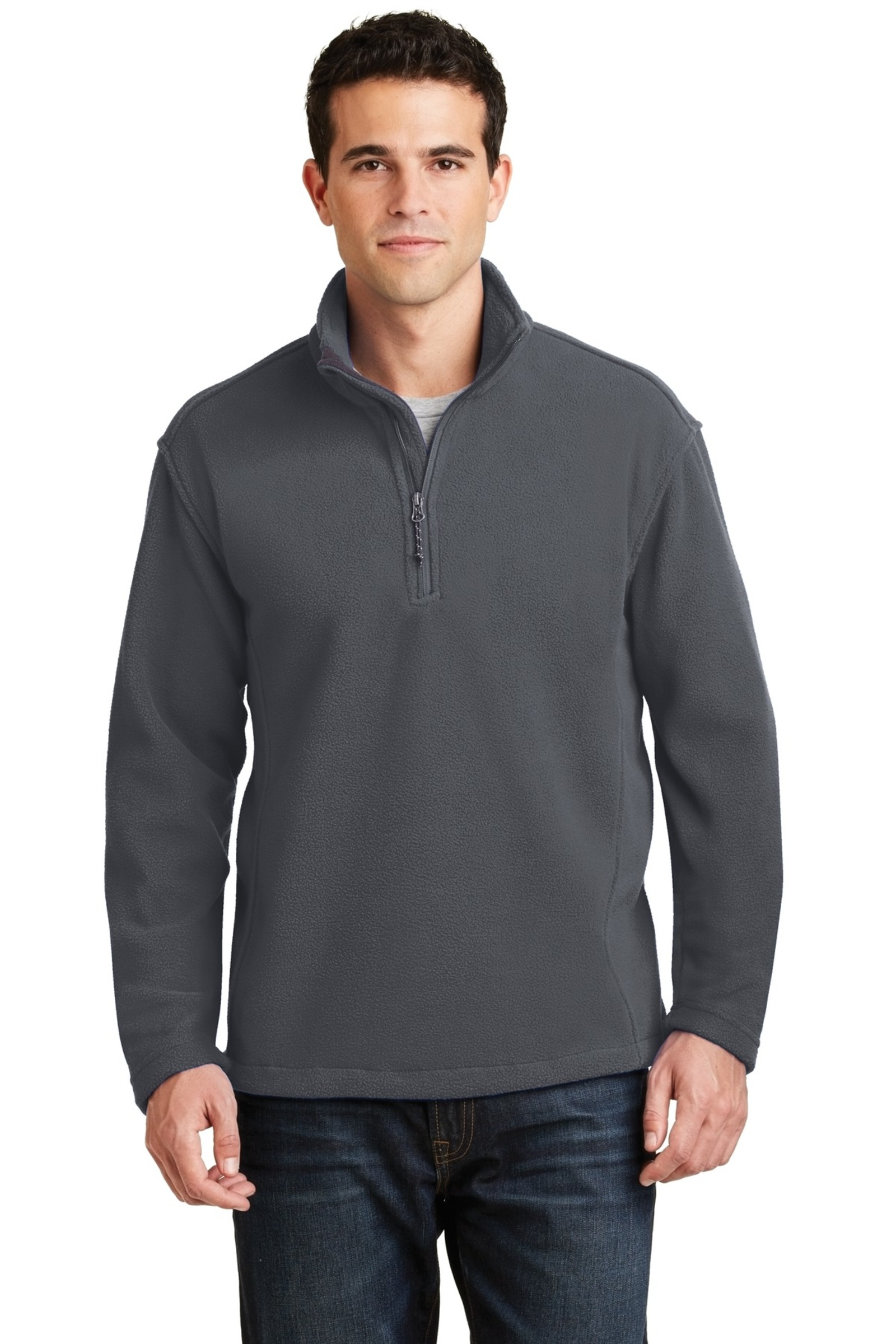 Port Authority Embroidered Men's Value Fleece 1/4-Zip Pullover
